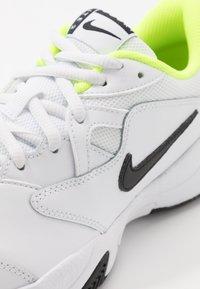 Nike Performance - COURT LITE 2 - Multicourt tennis shoes - white/black/volt - 2