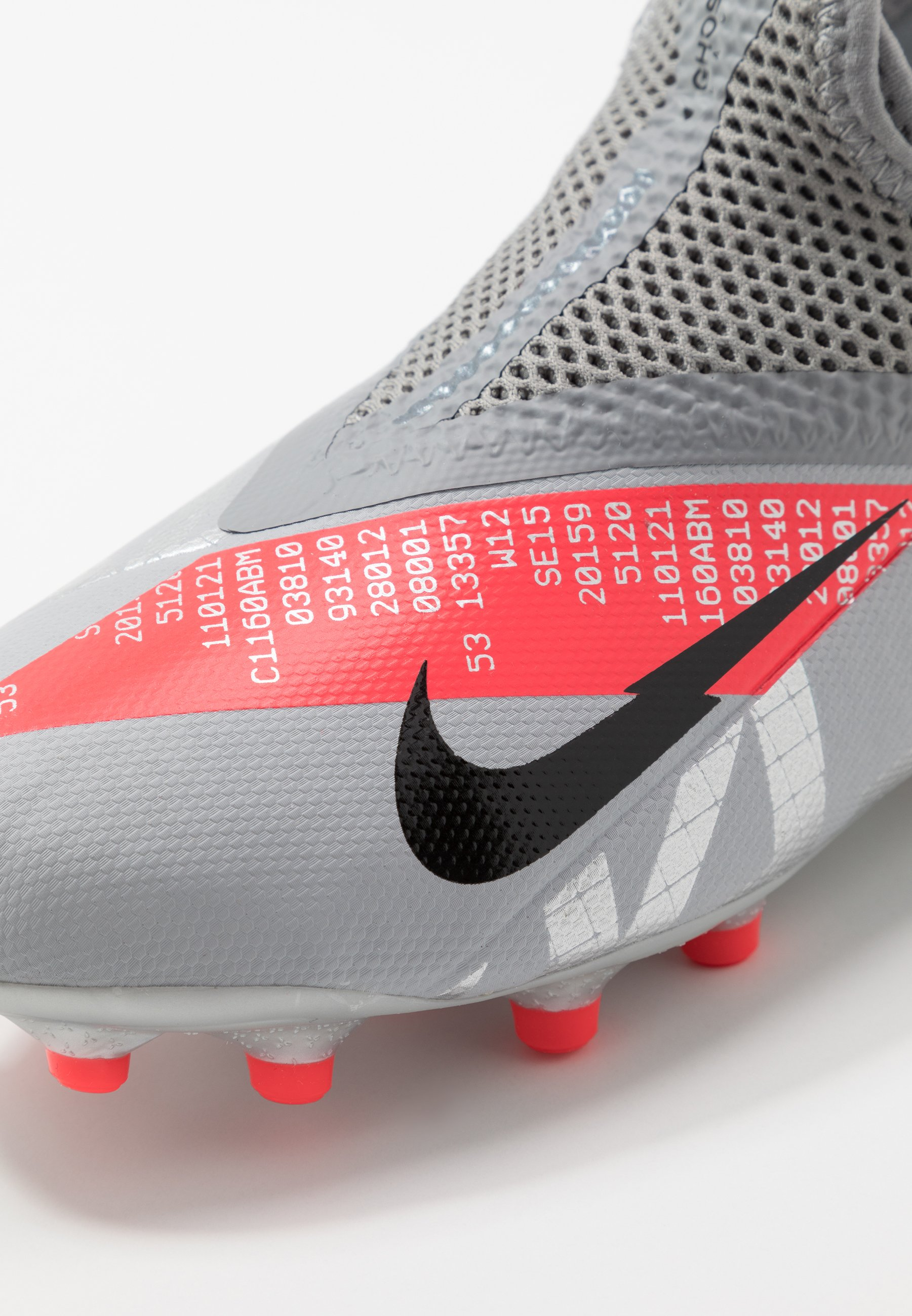 PHANTOM VISION 2 ACADEMY FGMG Chaussures de foot à crampons metallic bomber greyblackparticle grey