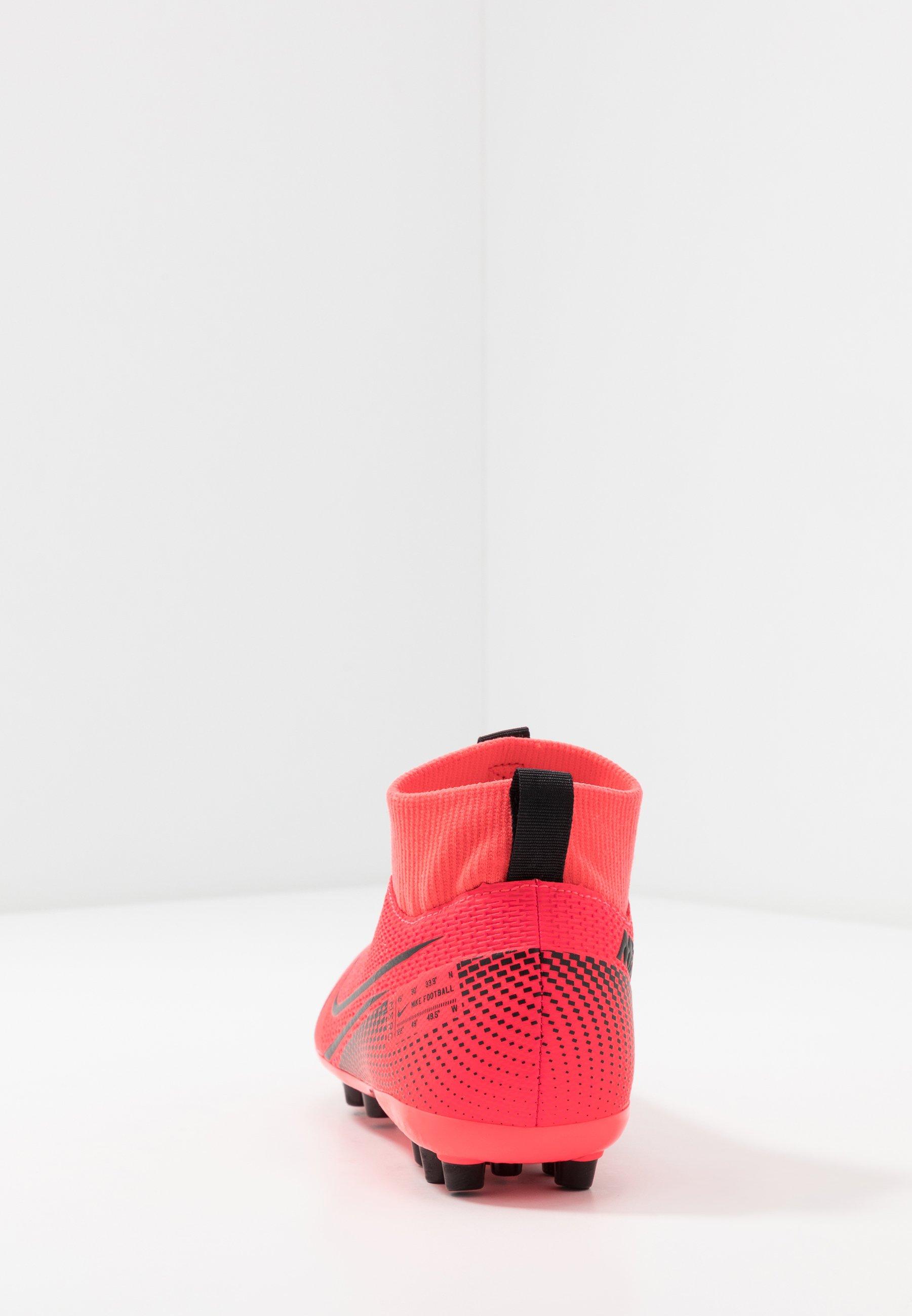 Nike Performance MERCURIAL 7 ACADEMY AG - Korki Lanki - laser crimson/black