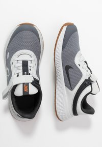 Nike Performance - REVOLUTION 5 FLYEASE - Chaussures de running neutres - light smoke grey/dark smoke grey/photon dust/medium brown - 0