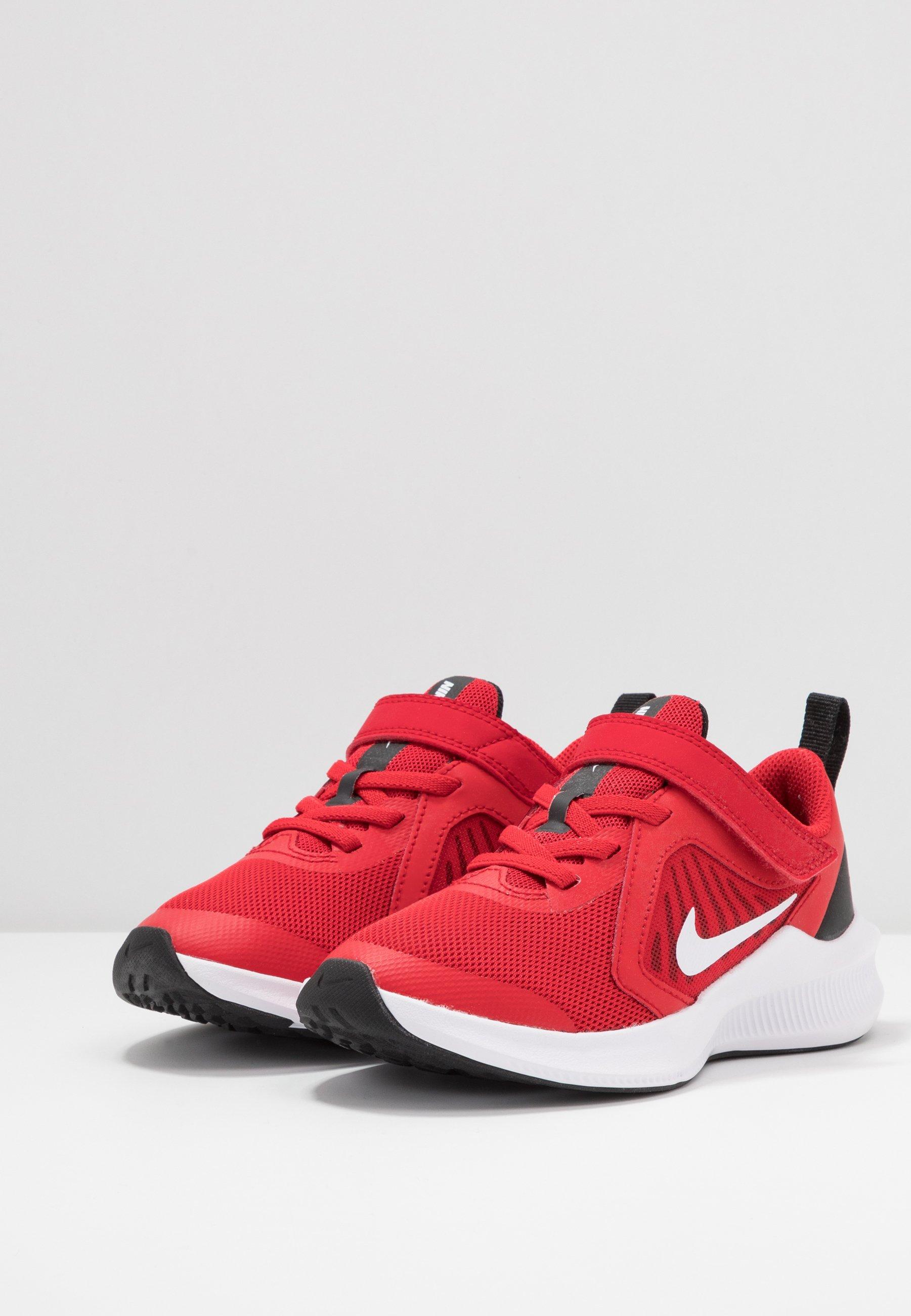 Nike Performance DOWNSHIFTER 10 - Neutrale løbesko - universe red/white/black