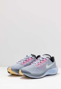 Nike Performance - AIR ZOOM PEGASUS 37  - Zapatillas de running neutras - obsidian mist/hydrogen blue/black/lotus pink - 3