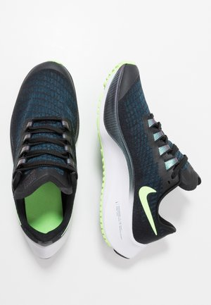 AIR ZOOM PEGASUS 37  - Neutrální běžecké boty - black/ghost green/valerian blue/spruce aura