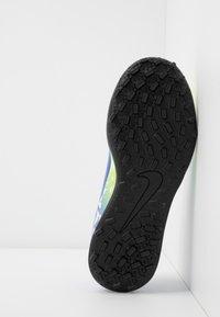Nike Performance - JR VAPOR 13 CLUB NEYMAR TF - Astro turf trainers - white/racer blue/volt/black - 5