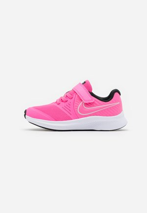 STAR RUNNER 2 - Neutral running shoes - pink glow/photon dust/black/white