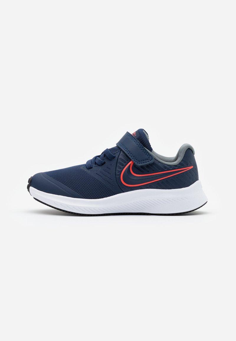 Nike Performance - STAR RUNNER 2 - Scarpe running neutre - midnight navy/bright crimson/smoke grey/black