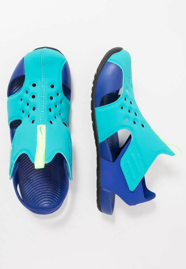 SUNRAY PROTECT  - Zapatillas acuáticas - oracle aqua/ghost green/hyper blue/black