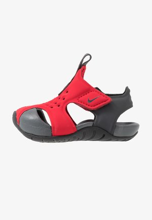 SUNRAY PROTECT - Zapatillas acuáticas - university red/anthracite/black