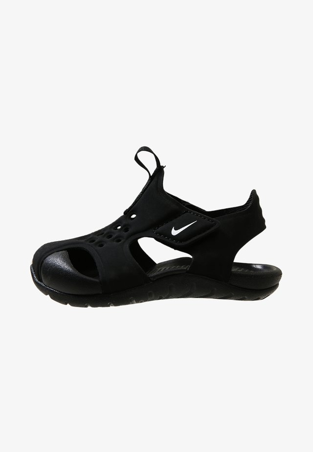 SUNRAY PROTECT - Zapatillas acuáticas - black/white