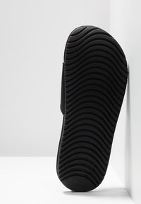 Nike Performance - KAWA SLIDE - Sandales de bain - black/white - 5