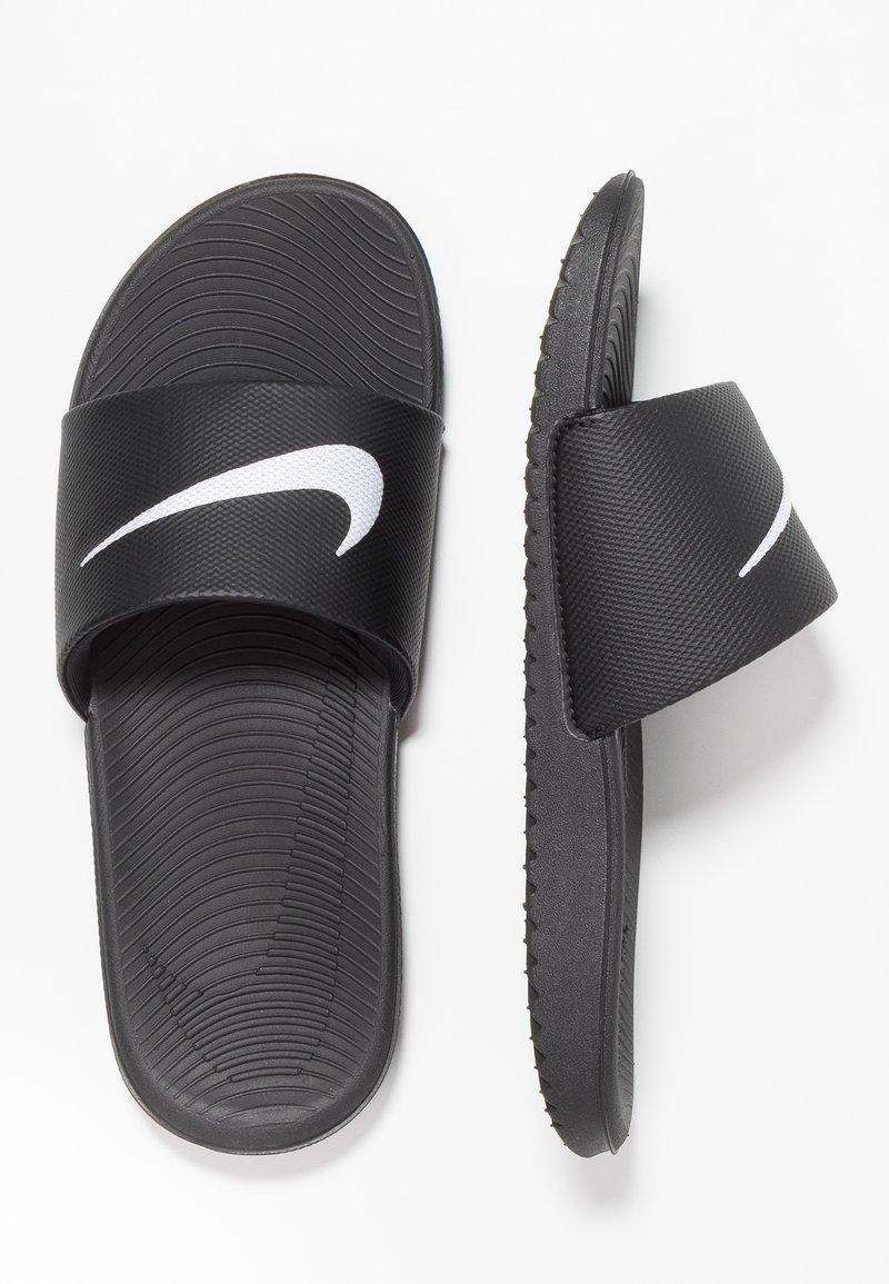 Nike Performance - KAWA SLIDE - Rantasandaalit - black/white