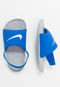 Nike Performance - KAWA SLIDE - Badslippers - hyper cobalt/white/wolf grey - 0