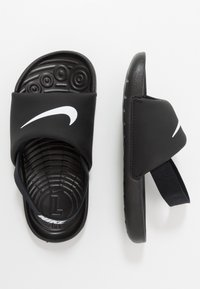 Nike Performance - KAWA SLIDE - Rantasandaalit - black/white - 0