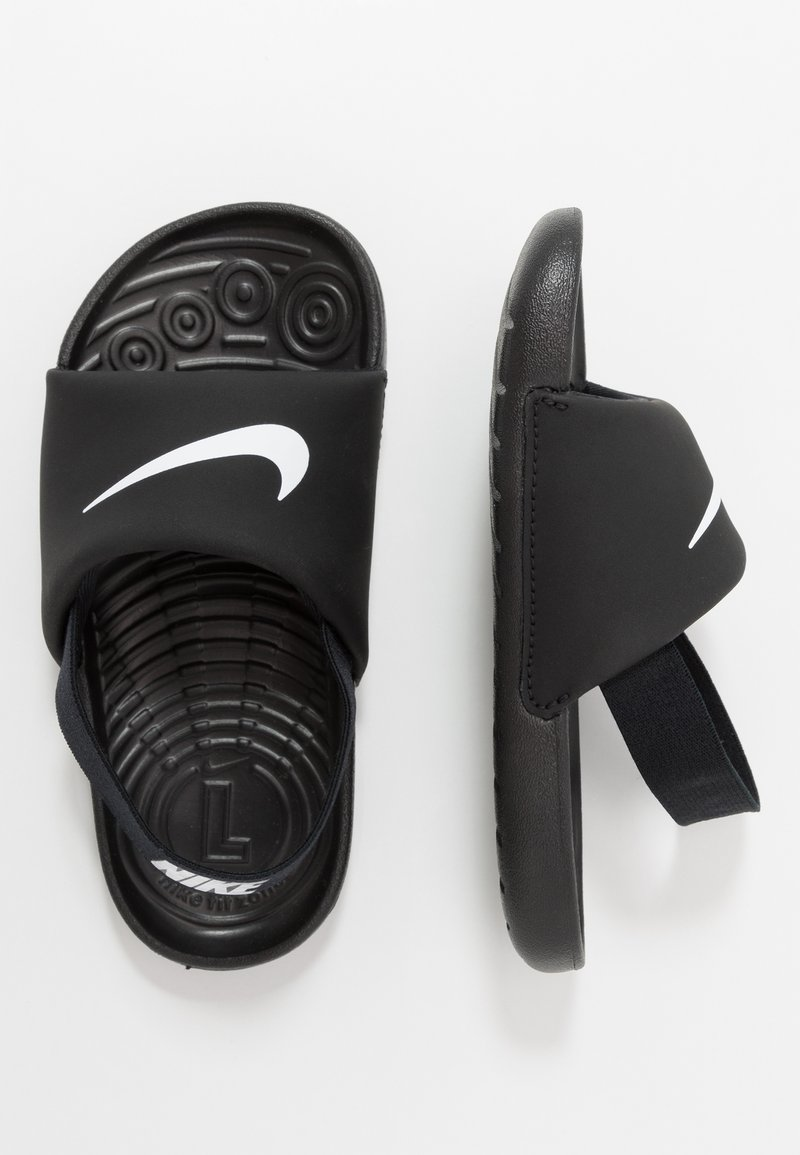 Nike Performance - KAWA SLIDE - Rantasandaalit - black/white
