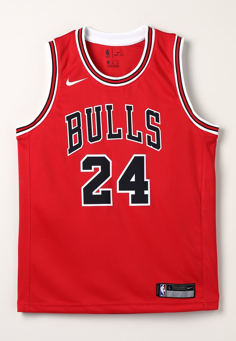 Nike Performance - NBA CHICAGO BULLS SWINGMAN ICON - Funkční triko - red