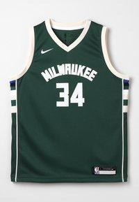 Nike Performance - NBA MILWAUKEE BUCKS SWINGMAN STATEMENT - Klubové oblečení - style spec - 0