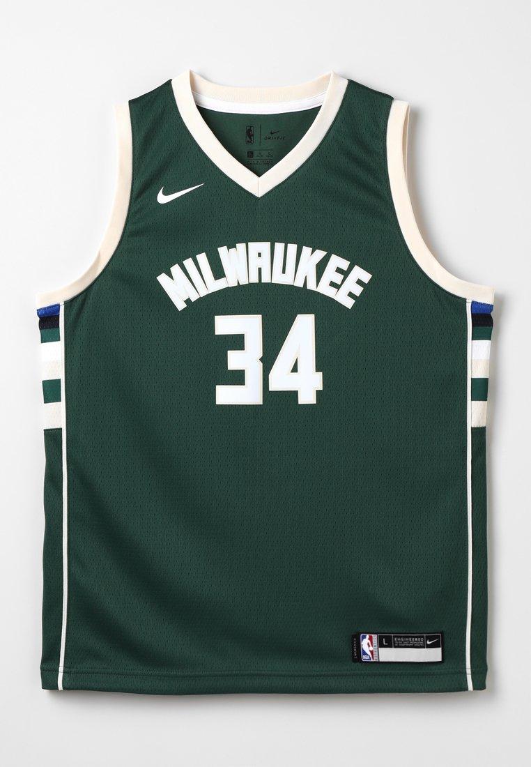 Nike Performance - NBA MILWAUKEE BUCKS SWINGMAN STATEMENT - Klubové oblečení - style spec