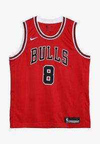 Nike Performance - NBA CHICAGO BULLS ZACH LAVINE ICON SWINGMAN - Klubové oblečení - red - 3