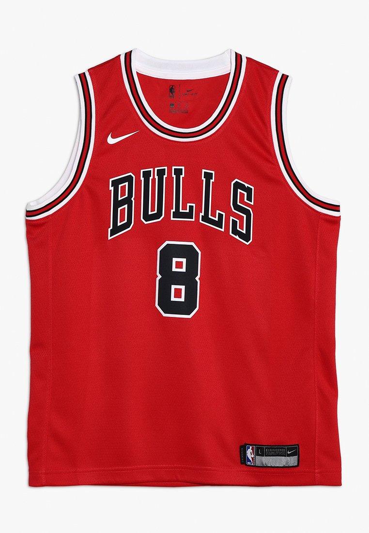 Nike Performance - NBA CHICAGO BULLS ZACH LAVINE ICON SWINGMAN - Klubové oblečení - red