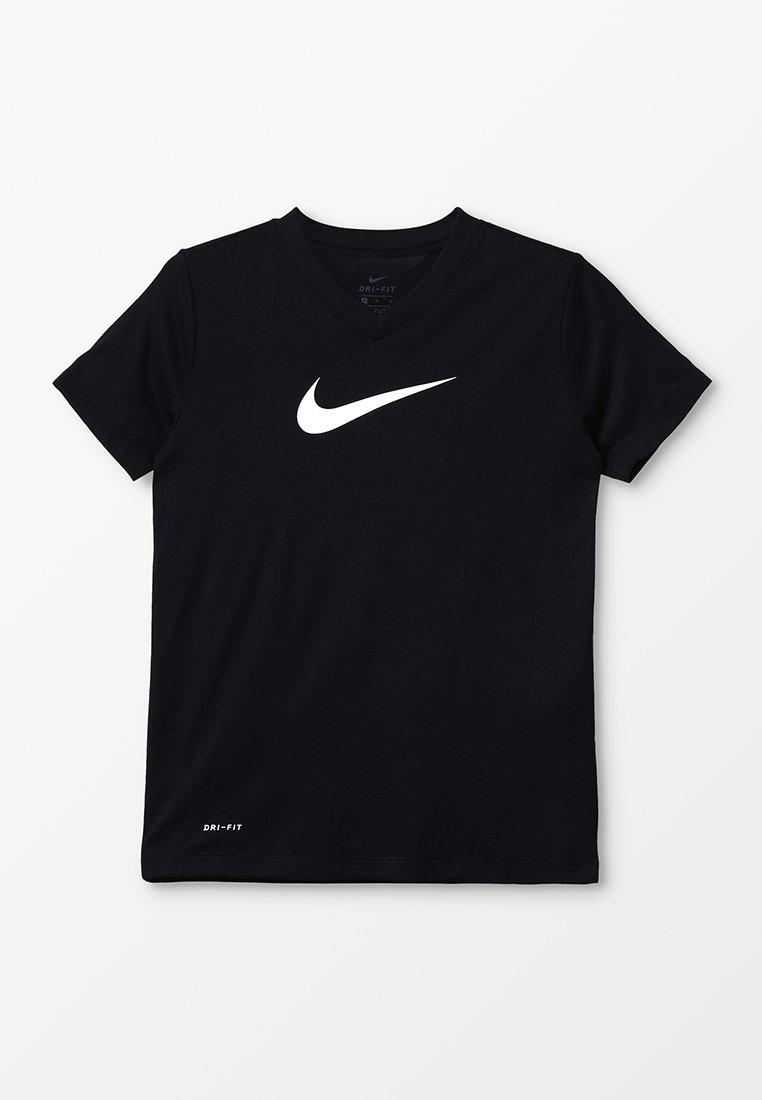 Nike Performance - DRY TEE - Camiseta estampada - black