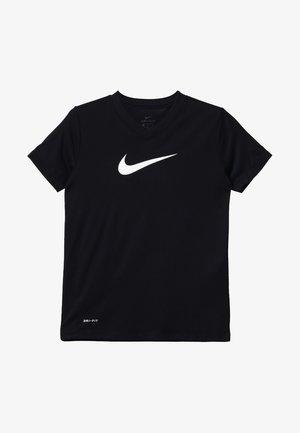 DRY TEE - Camiseta estampada - black