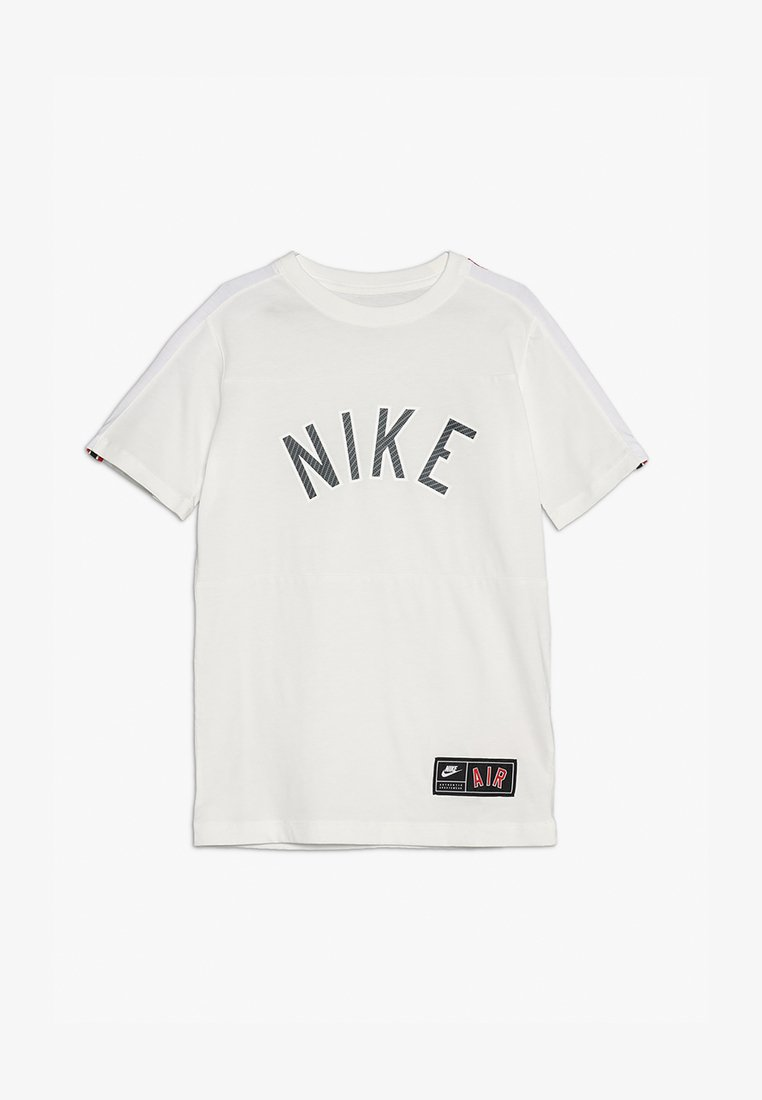 Nike Performance - TEE AIR  - T-Shirt print - sail/black