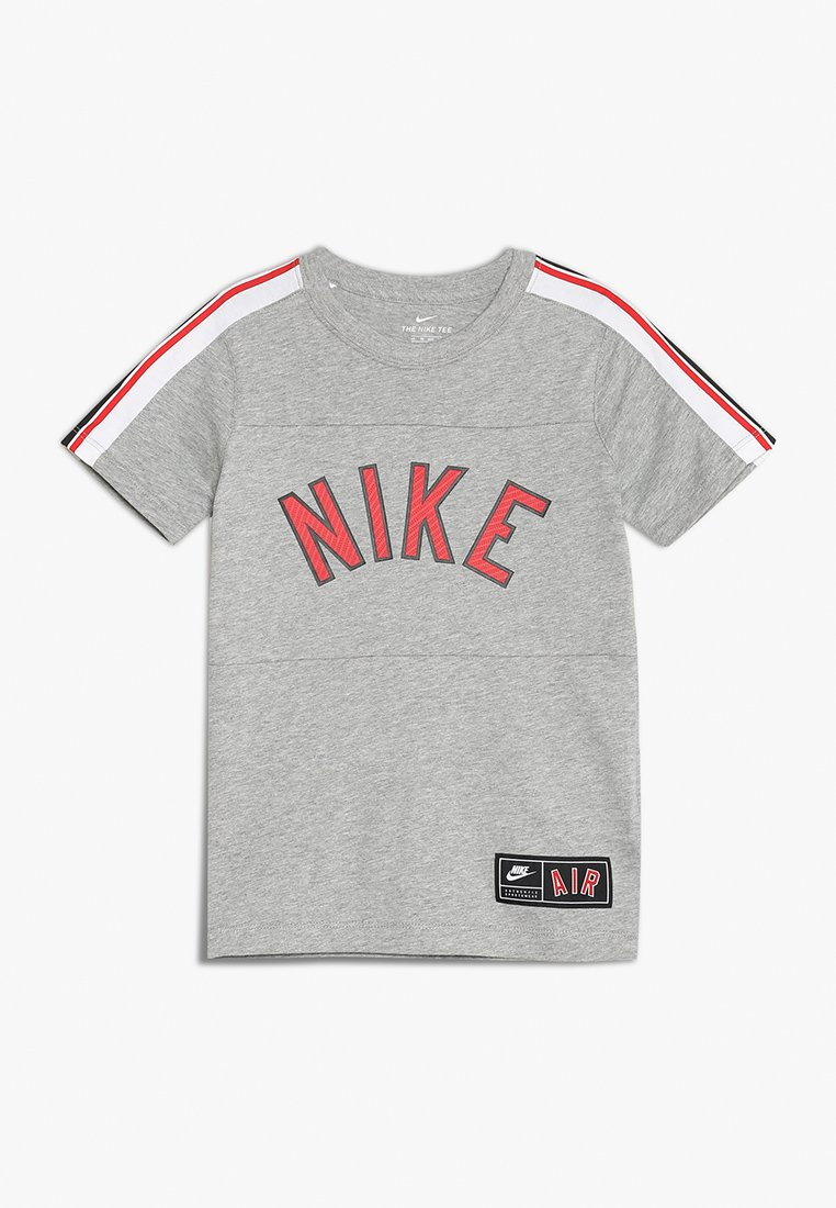 Nike Performance - TEE AIR  - T-Shirt print - dark grey heather/black