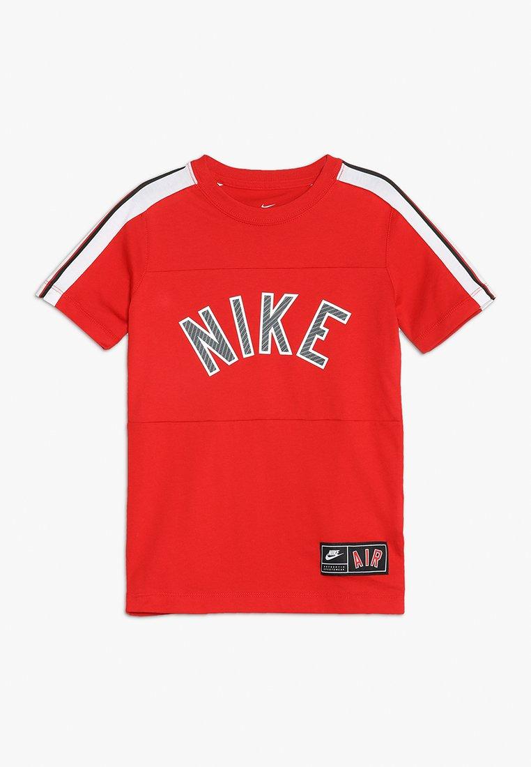 Nike Performance - TEE AIR  - T-Shirt print - university red/black