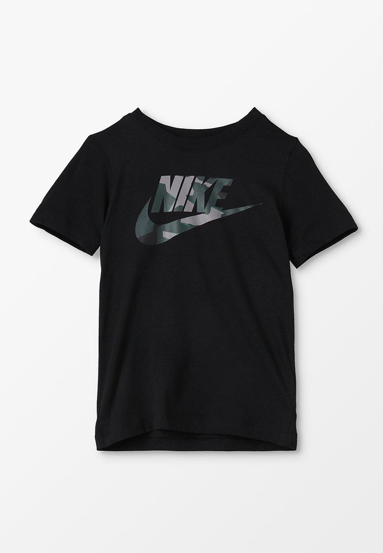 Nike Performance - TEE CAMO - T-shirt print - black