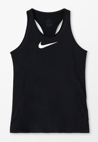 Nike Performance - TANK - Sportshirt - black/white - 0