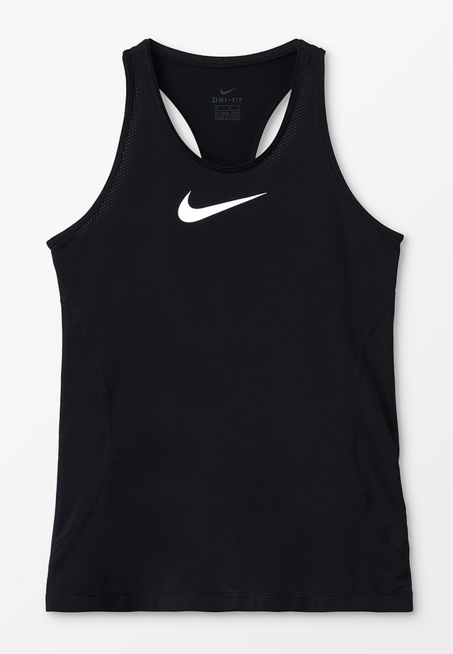 TANK - Sports shirt - black/white