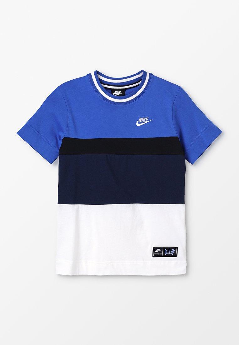 Nike Performance - AIR TOP - Print T-shirt - game royal/obsidian/sail