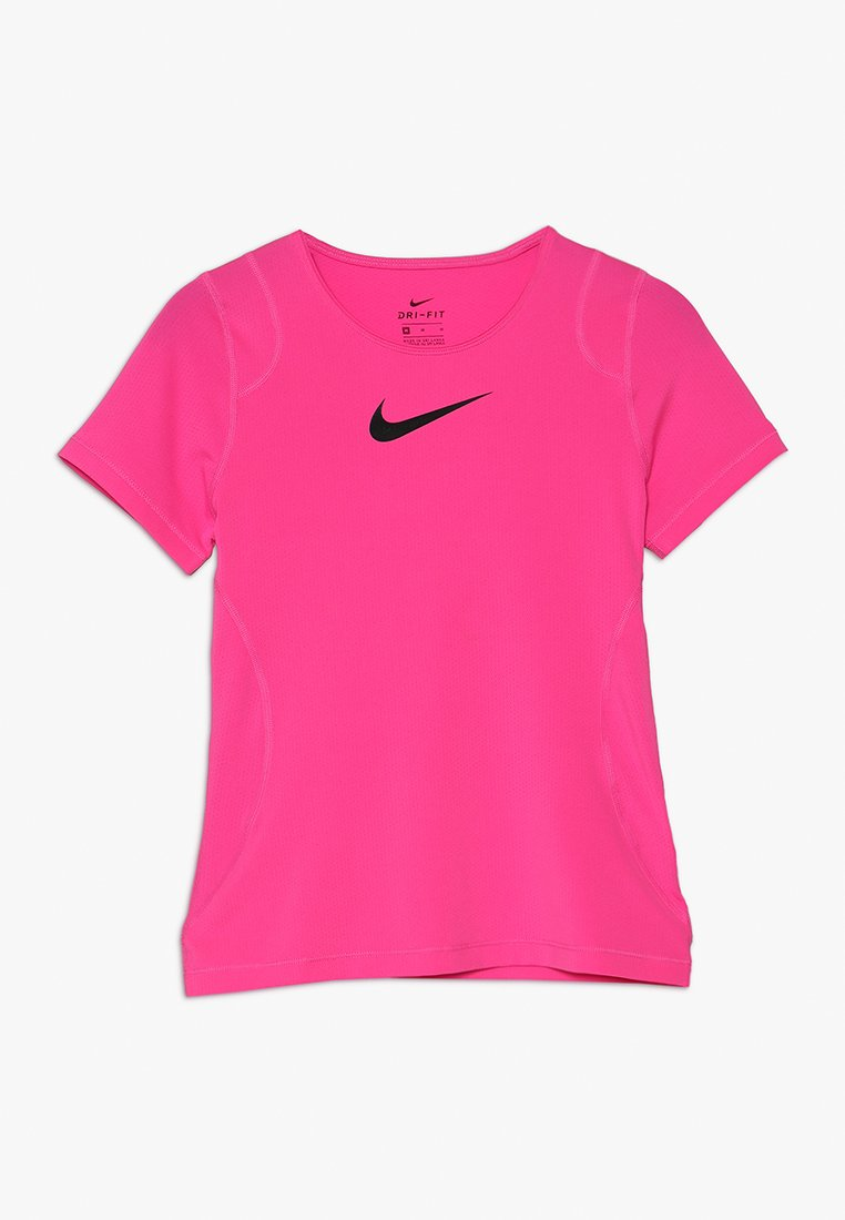 Nike Performance - T-shirt basique - vivid pink/black