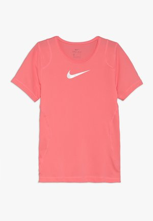 T-shirts basic - pink gaze/white