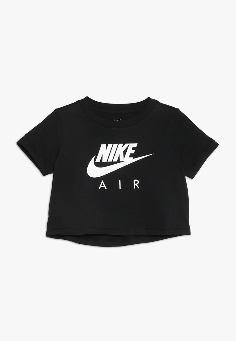 Nike Sportswear - TEE AIR CROP - T-shirt imprimé - black