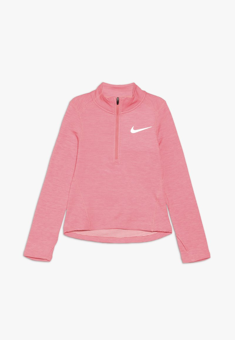 Nike Performance - RUN - Long sleeved top - pink gaze/echo pink/reflective silver