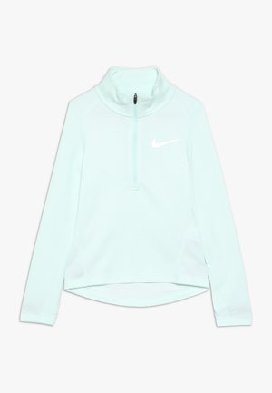 RUN - Funktionströja - teal tint/white/reflective silver