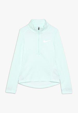 RUN - Sports shirt - teal tint/white/reflective silver