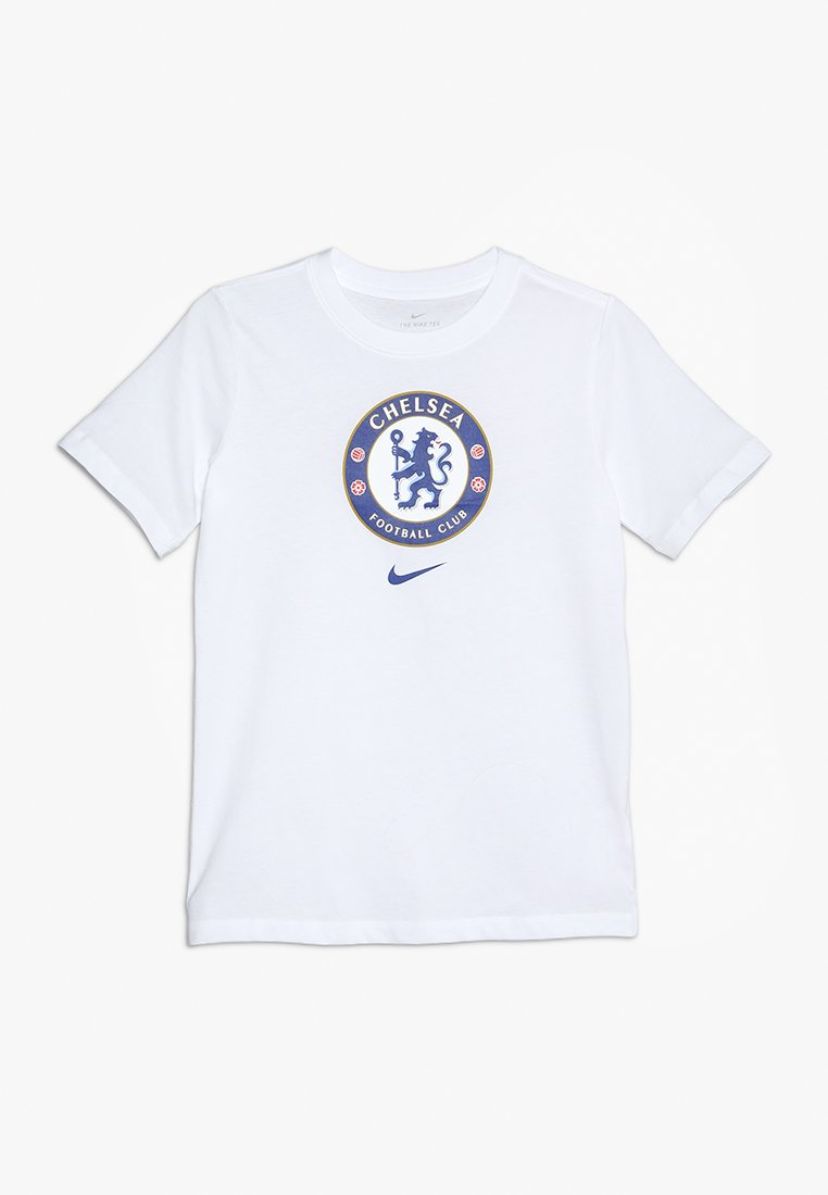 Nike Performance - CHELSEA LONDON TEE EVERGREEN CREST - Vereinsmannschaften - white