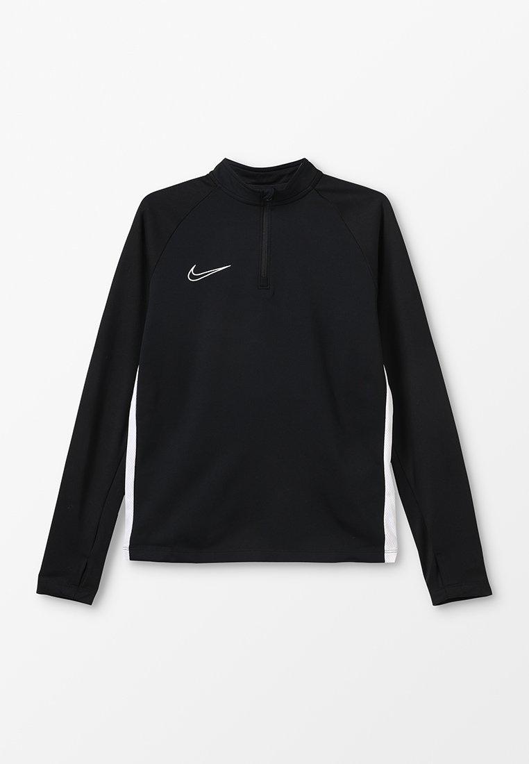 Nike Performance - DRY ACADEMY DRILL - Sports shirt - black/white