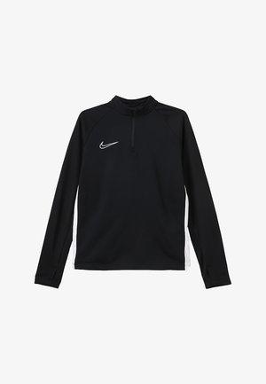 DRY ACADEMY DRILL TOP - Sportshirt - black/white