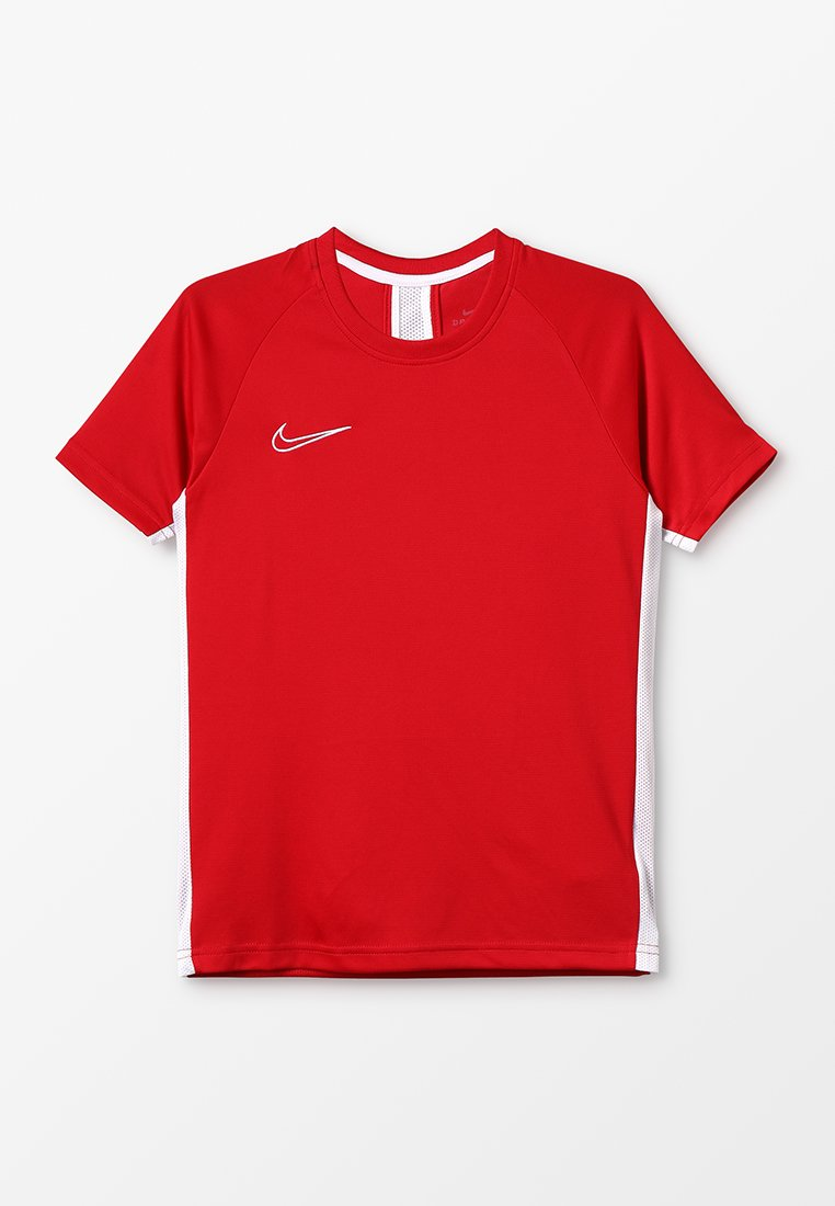 Nike Performance - DRY - Print T-shirt - university red/white