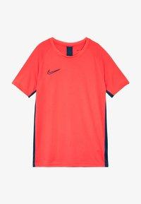 Nike Performance - DRY ACADEMY - Print T-shirt - laser crimson/valerian blue - 3
