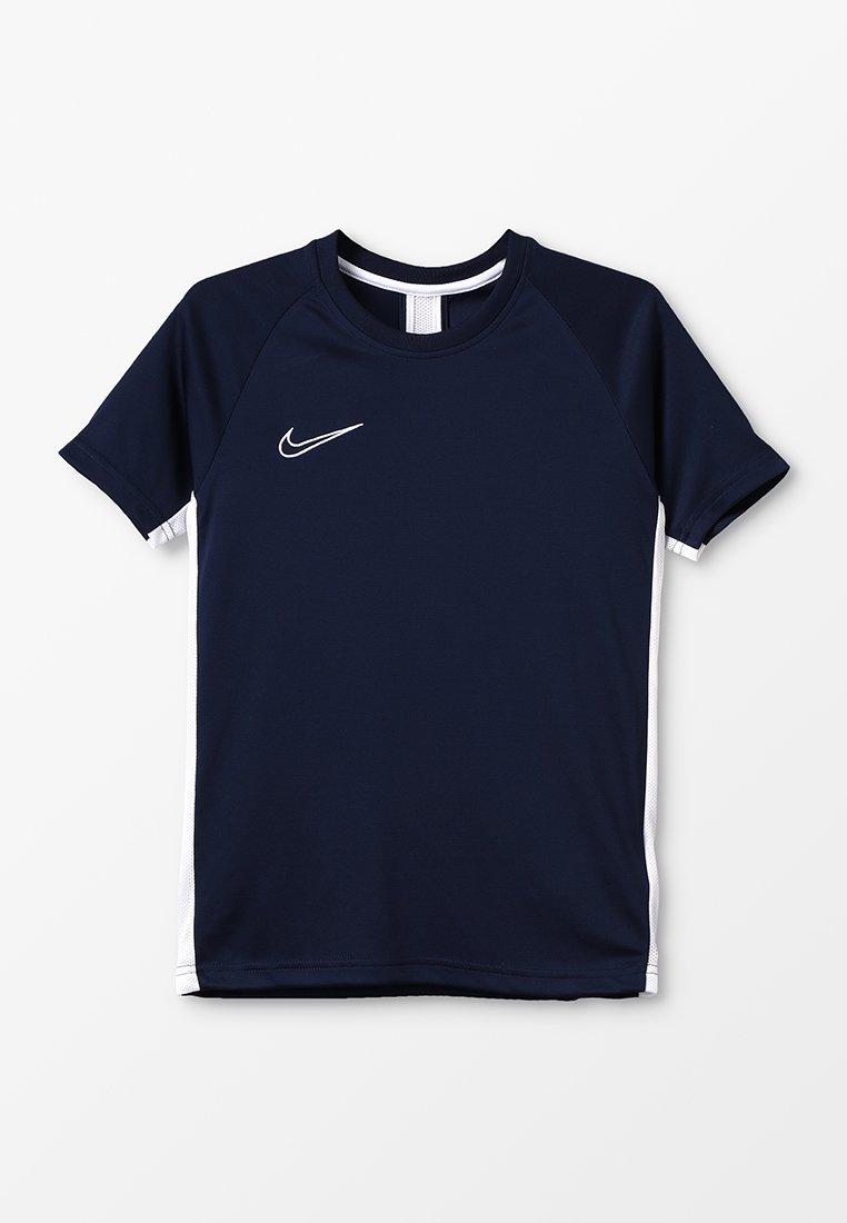 Nike Performance - DRY - Camiseta estampada - obsidian/white