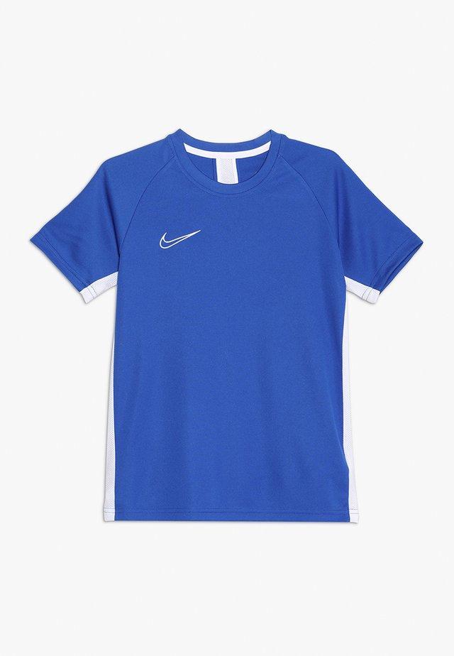 DRY ACADEMY - Camiseta estampada - game royal/white