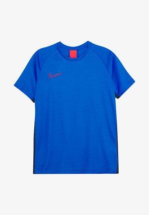 DRY ACADEMY - T-shirt sportiva - soar/obsidian/laser crimson