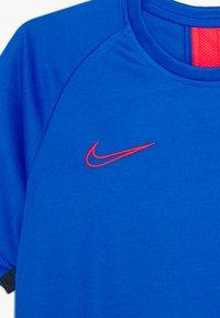 Nike Performance - DRY ACADEMY - Sports shirt - soar/obsidian/laser crimson - 3