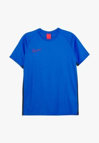 Nike Performance - DRY ACADEMY - Sports shirt - soar/obsidian/laser crimson - 0