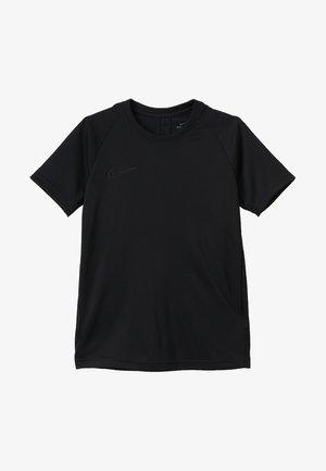 DRY ACADEMY - T-shirt med print - black