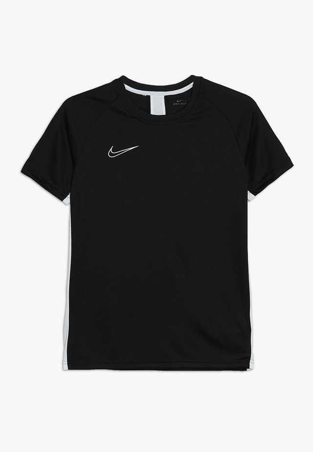DRY ACADEMY - Sports shirt - black/white